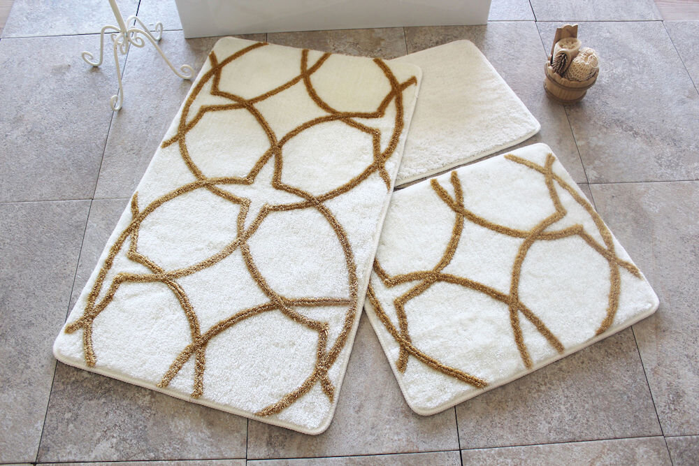 Set covorase baie Chilai Home by Alessia, 351ALS2092, 3 Piese, acril
