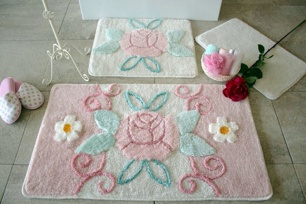 Set covorase baie Chilai Home by Alessia, 351ALS2084, 3 Piese, acril