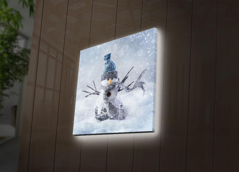 Tablou pe panza iluminat Ledda, 254LED4236, 40 x 40 cm, panza