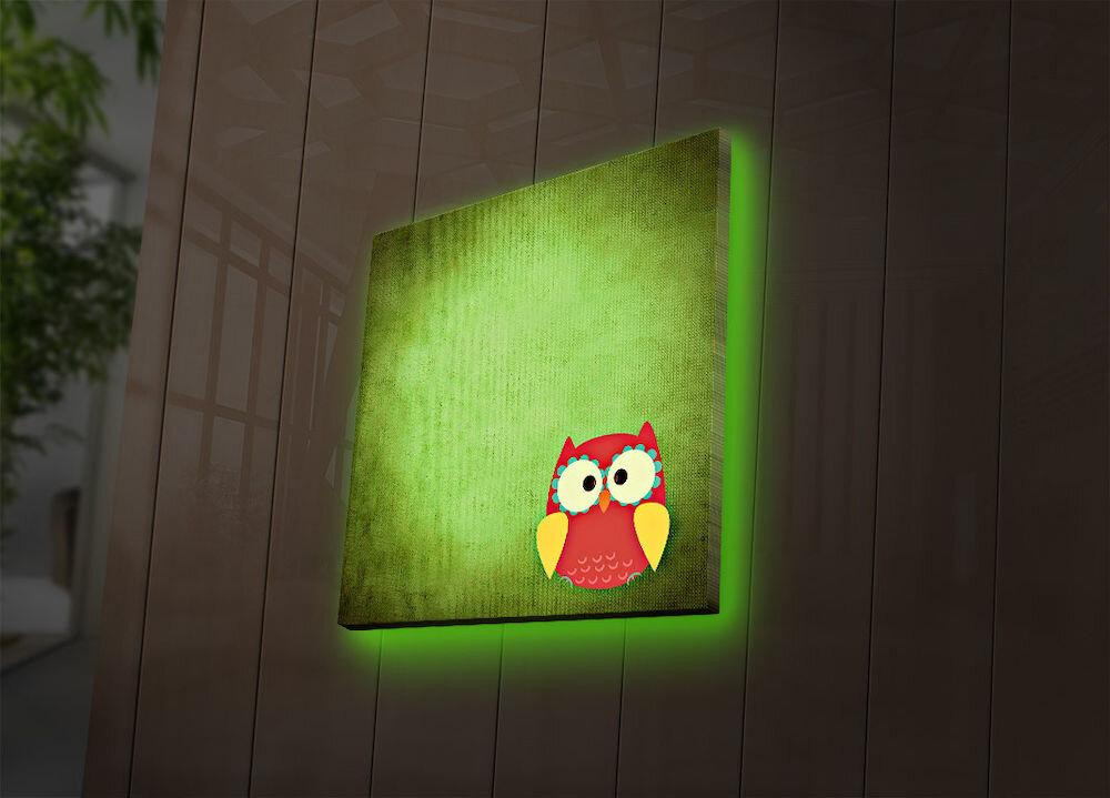 Tablou pe panza iluminat Ledda, 254LED4250, 40 x 40 cm, panza