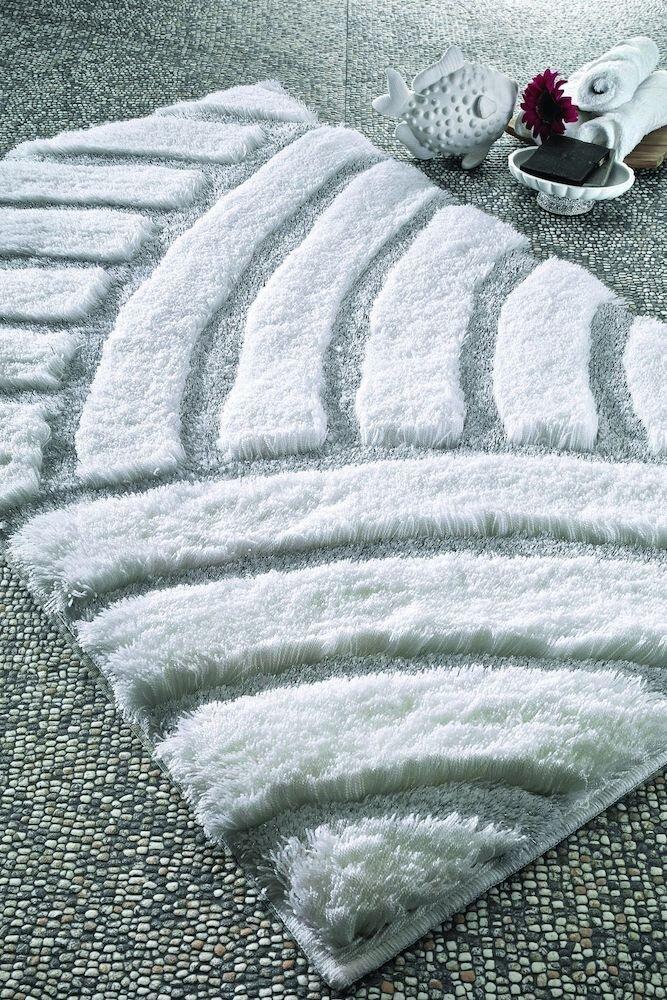 Covor de baie Confetti, 770CNF8558, 60 x 100 cm, poliamida