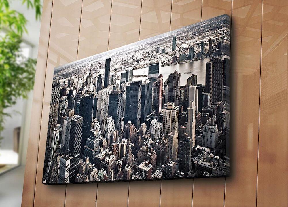 Tablou decorativ pe panza Horizon, 237HRZ4280, 70 x 100 cm, panza