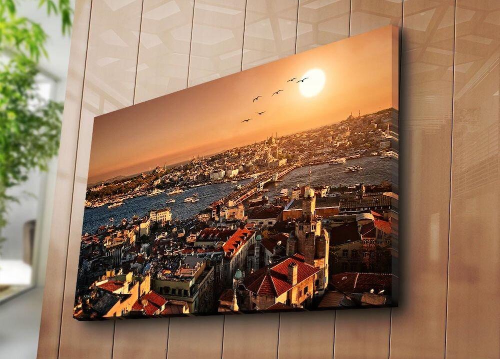 Tablou decorativ pe panza Horizon, 237HRZ4294, 70 x 100 cm, panza