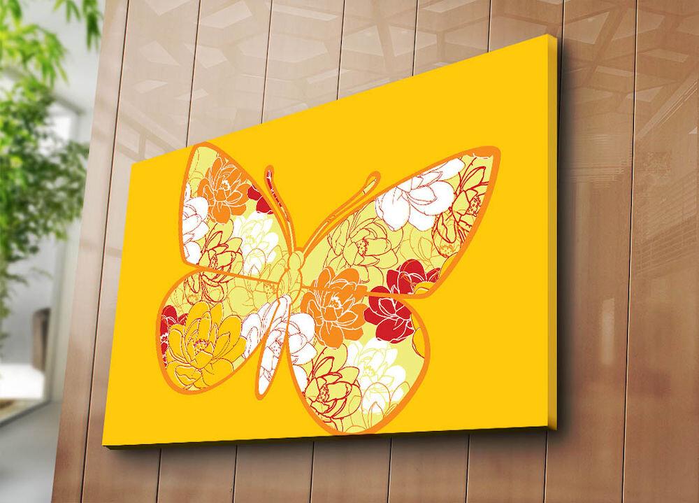 Tablou decorativ pe panza Horizon, 237HRZ4297, 70 x 100 cm, panza