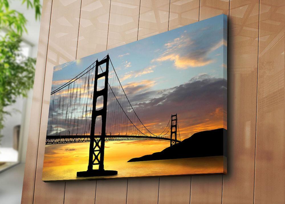 Tablou decorativ pe panza Horizon, 237HRZ5205, 70 x 100 cm, panza