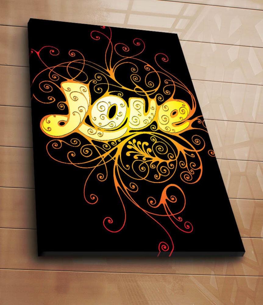 Tablou decorativ pe panza Horizon, 237HRZ5237, 70 x 100 cm, panza