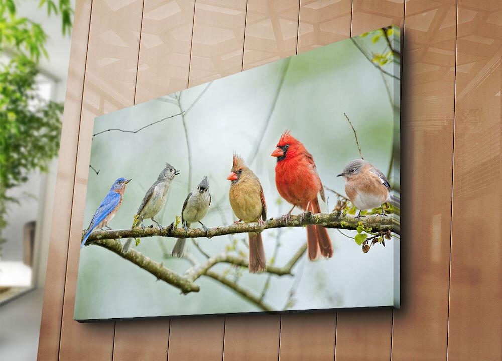 Tablou decorativ pe panza Horizon, 237HRZ5281, 70 x 100 cm, panza