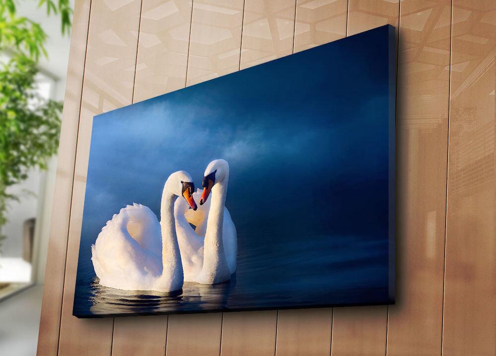 Tablou decorativ pe panza Horizon, 237HRZ5282, 70 x 100 cm, panza