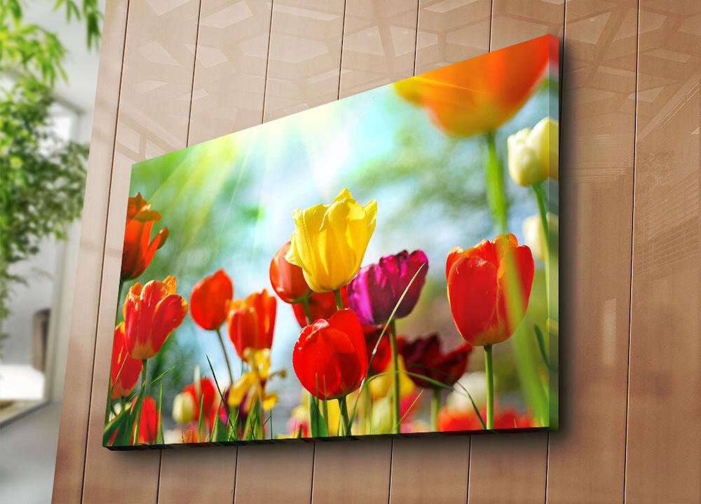 Tablou decorativ pe panza Horizon, 237HRZ5283, 70 x 100 cm, panza