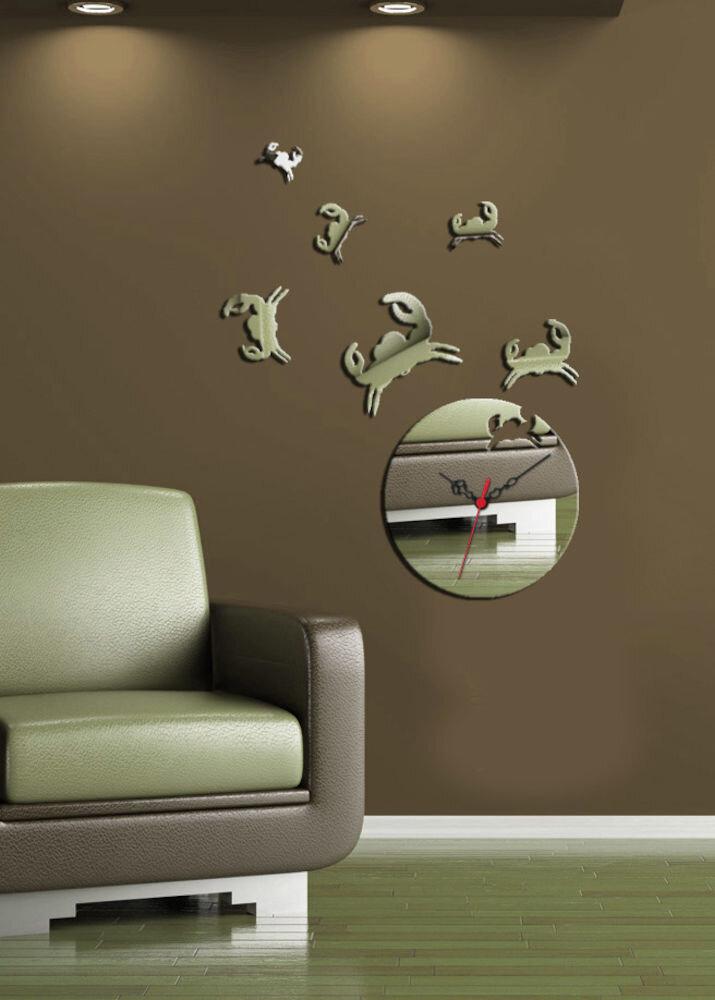 Ceas decorativ Desire, 234DSR1508, 54 x 67 cm, Raci
