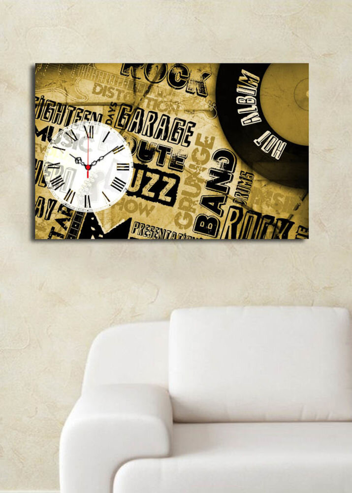 Ceas decorativ Clock Art, 228CLA1697, 45 x 70, panza