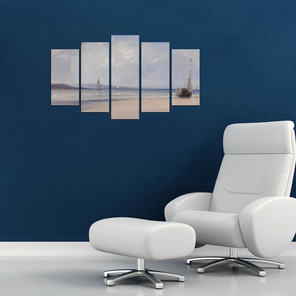 Tablou decorativ multicanvas Charm, 223CHR2992, 5 Piese, MDF
