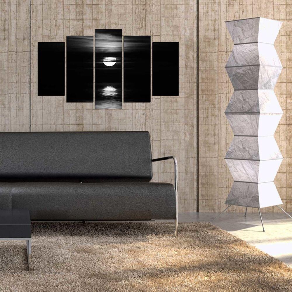 Tablou decorativ multicanvas Pure, 250PUR2994, 5 Piese, MDF