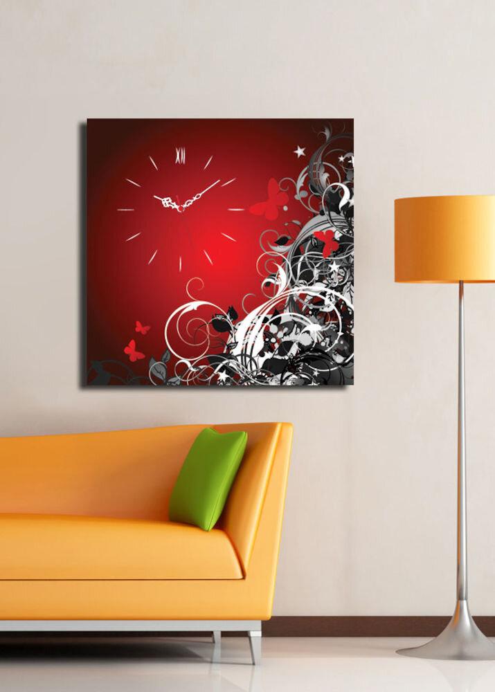 Ceas decorativ de perete Clock Art, 228CLA1649, 45 x 45, panza