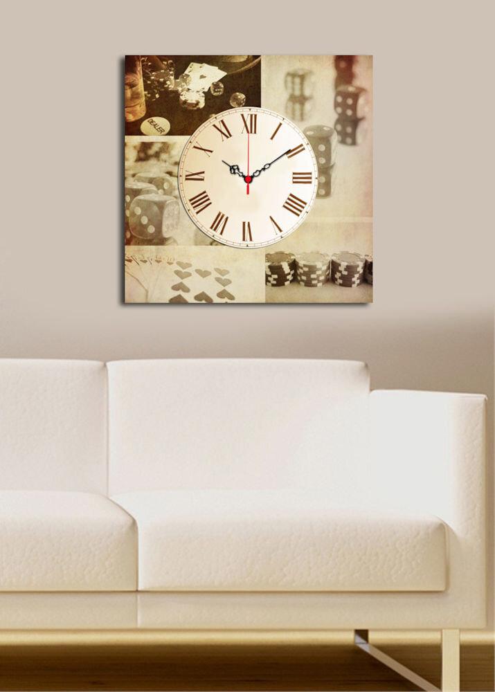 Ceas decorativ de perete Clock Art, 228CLA1663, 45 x 45, panza