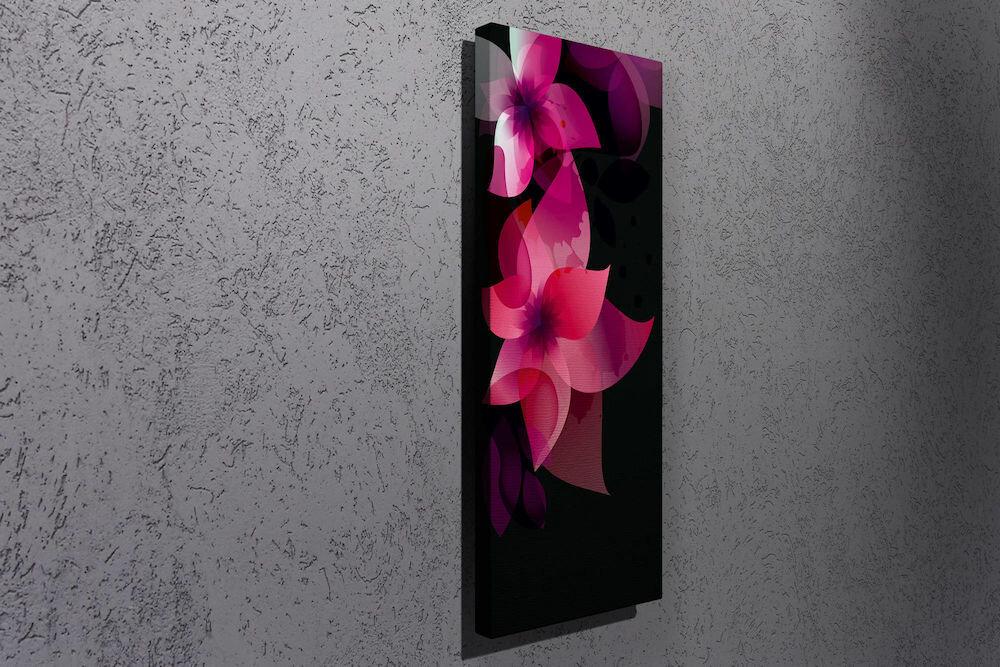 Tablou decorativ pe panza Majestic, 257MJS1284, 30 x 80 cm, panza