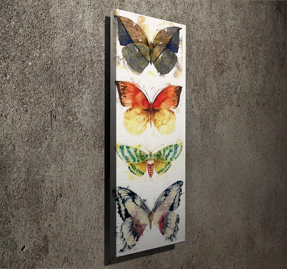 Tablou decorativ pe panza Symphony, 762SYM3299, 30 x 80 cm, panza