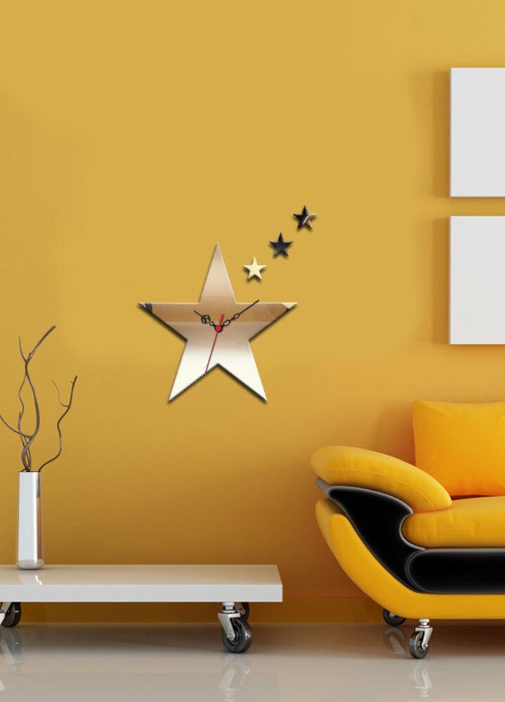 Ceas decorativ de perete Desire, 234DSR1546, 33 x 37 cm, Steluta