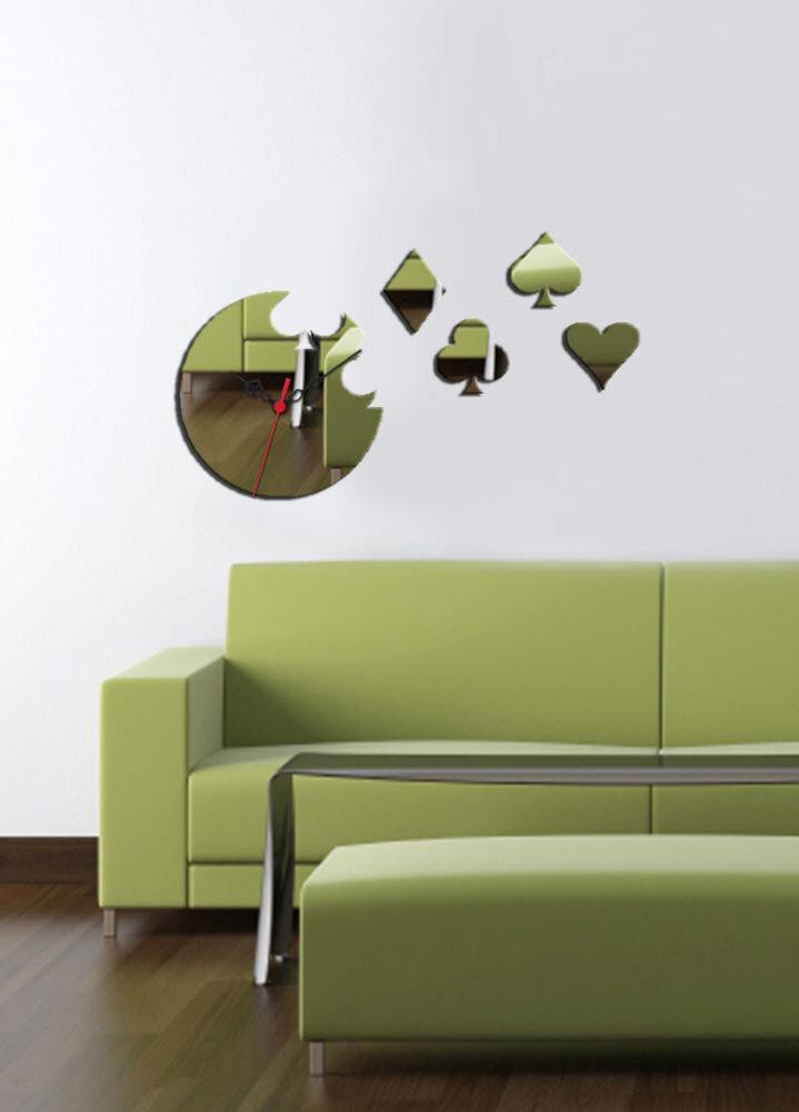 Ceas decorativ de perete Desire, 234DSR1530, 50 x 30 cm