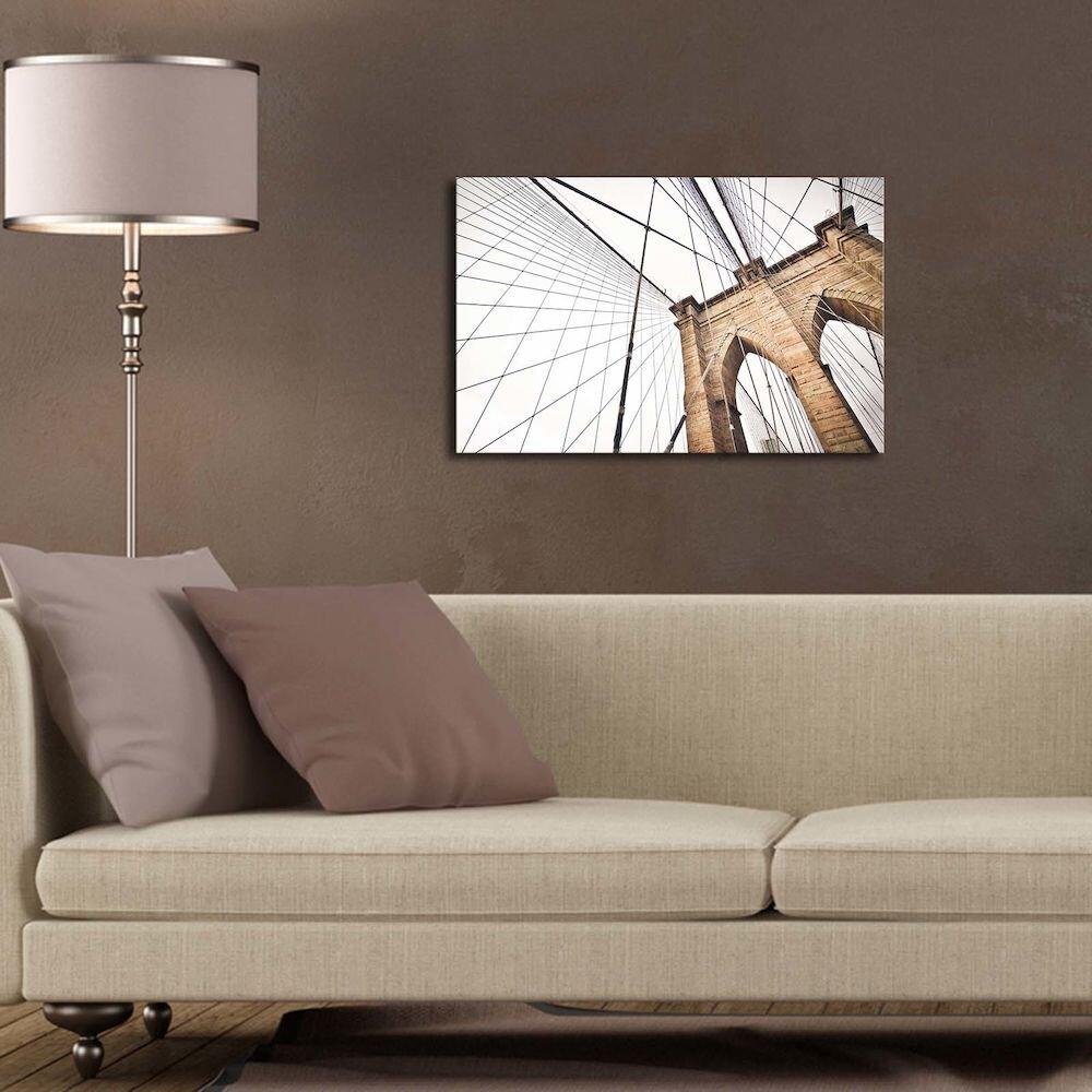 Tablou decorativ pe panza Canvart, 249CVT1309, 45 x 70 cm, panza