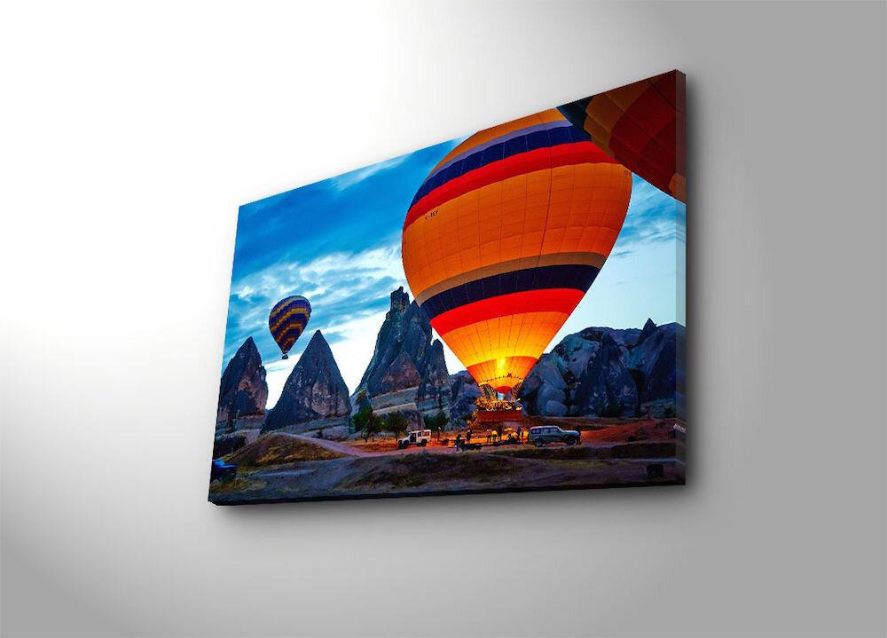 Tablou decorativ pe panza Canvart, 249CVT1327, 45 x 70 cm, panza