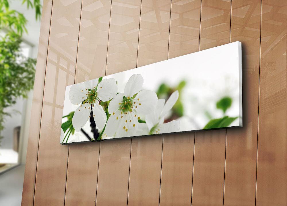 Tablou decorativ pe panza Horizon, 237HRZ1264, 30 x 90 cm, panza