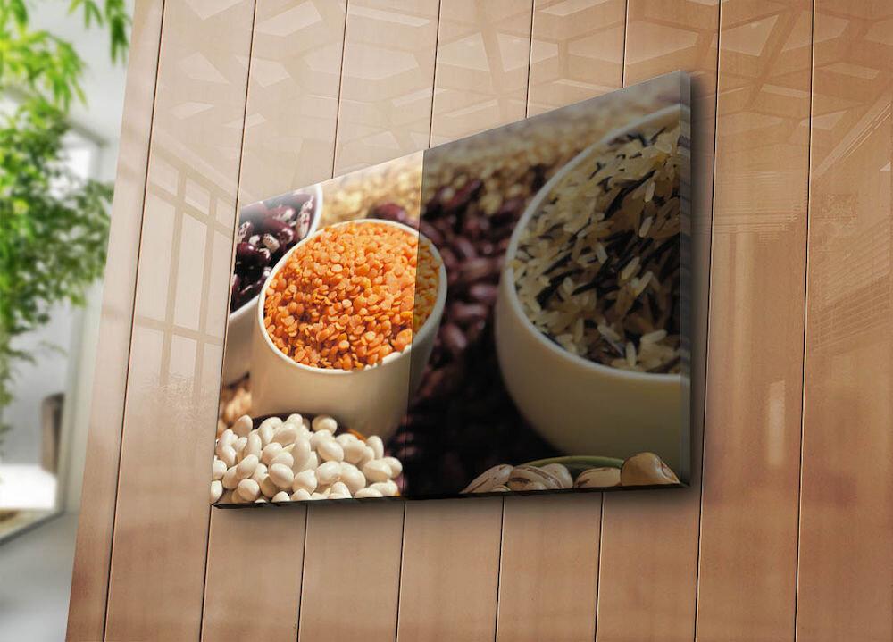 Tablou decorativ pe panza Horizon, 237HRZ5320, 45 x 70 cm, panza