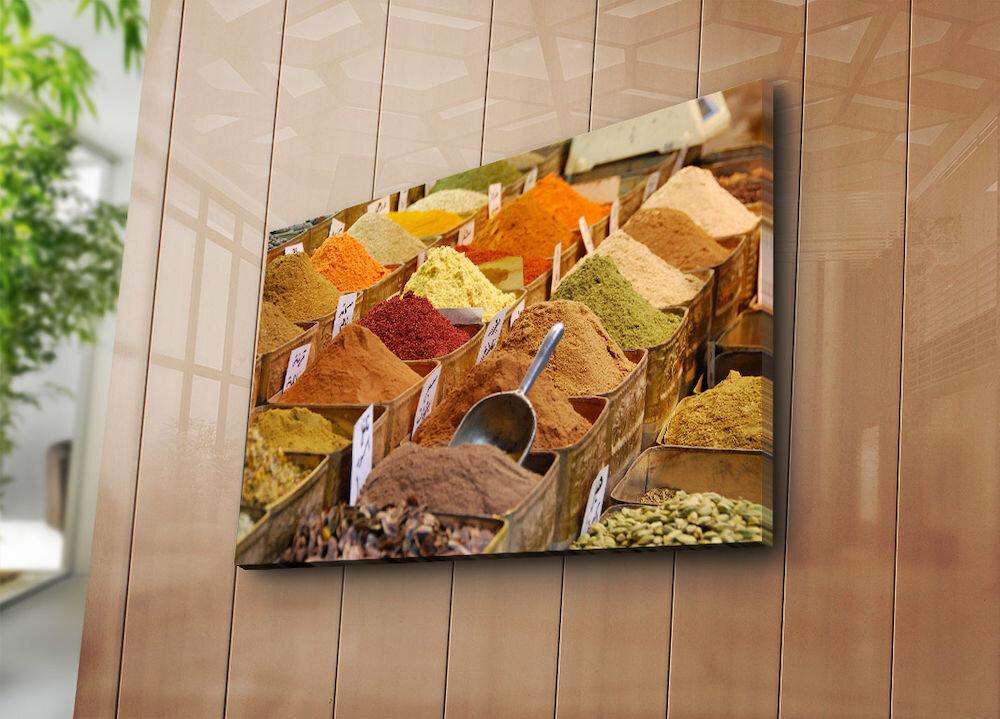 Tablou decorativ pe panza Horizon, 237HRZ5321, 45 x 70 cm, panza