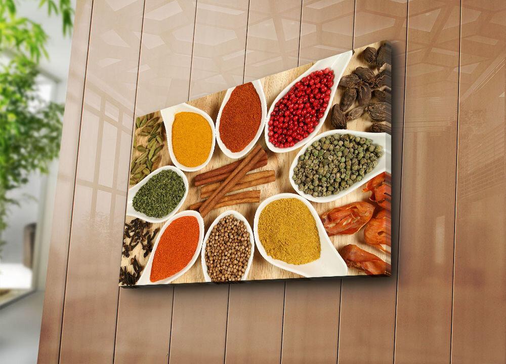 Tablou decorativ pe panza Horizon, 237HRZ5311, 45 x 70 cm, panza