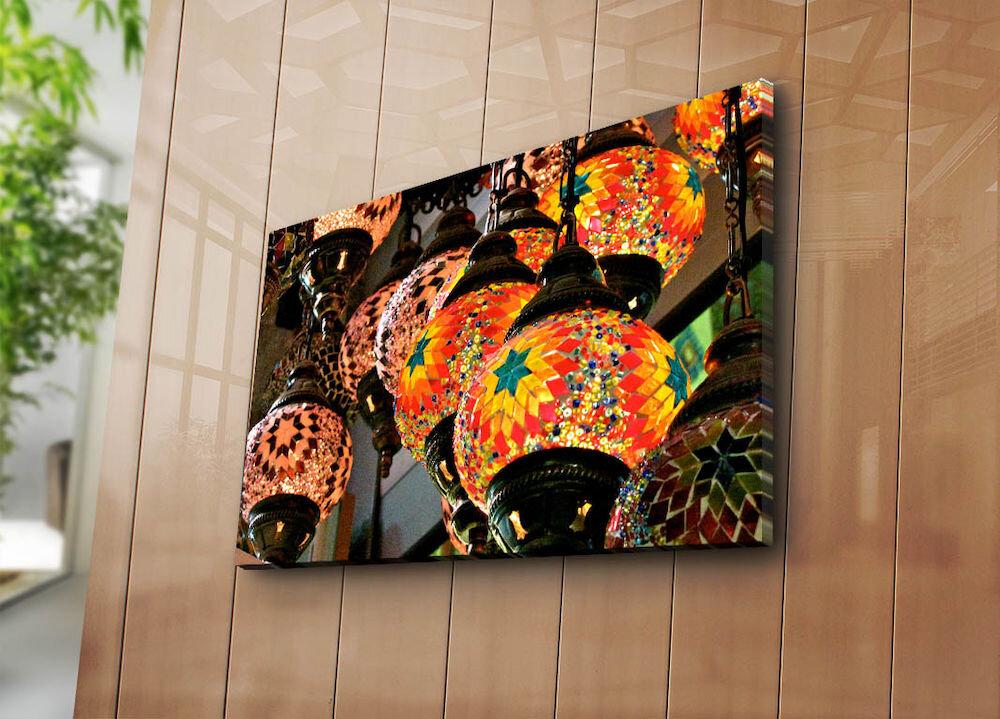 Tablou decorativ pe panza Horizon, 237HRZ5314, 45 x 70 cm, panza