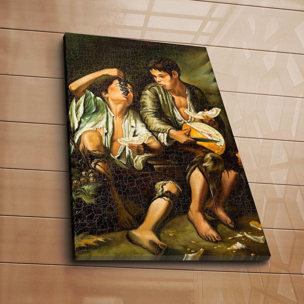 Tablou decorativ pe panza Horizon, 237HRZ4212, 45 x 70 cm, panza
