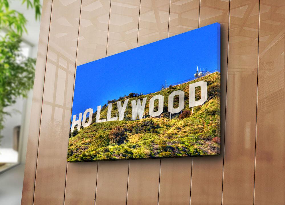 Tablou decorativ pe panza Horizon, 237HRZ4221, 45 x 70 cm, panza