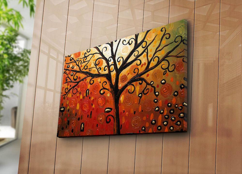 Tablou decorativ pe panza Horizon, 237HRZ3275, 45 x 70 cm, panza