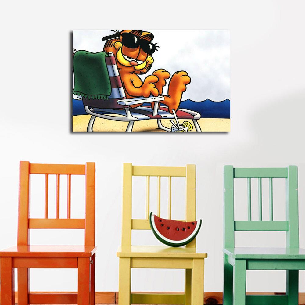 Tablou decorativ pe panza Taffy, 241TFY1226, 45 x 70 cm, panza
