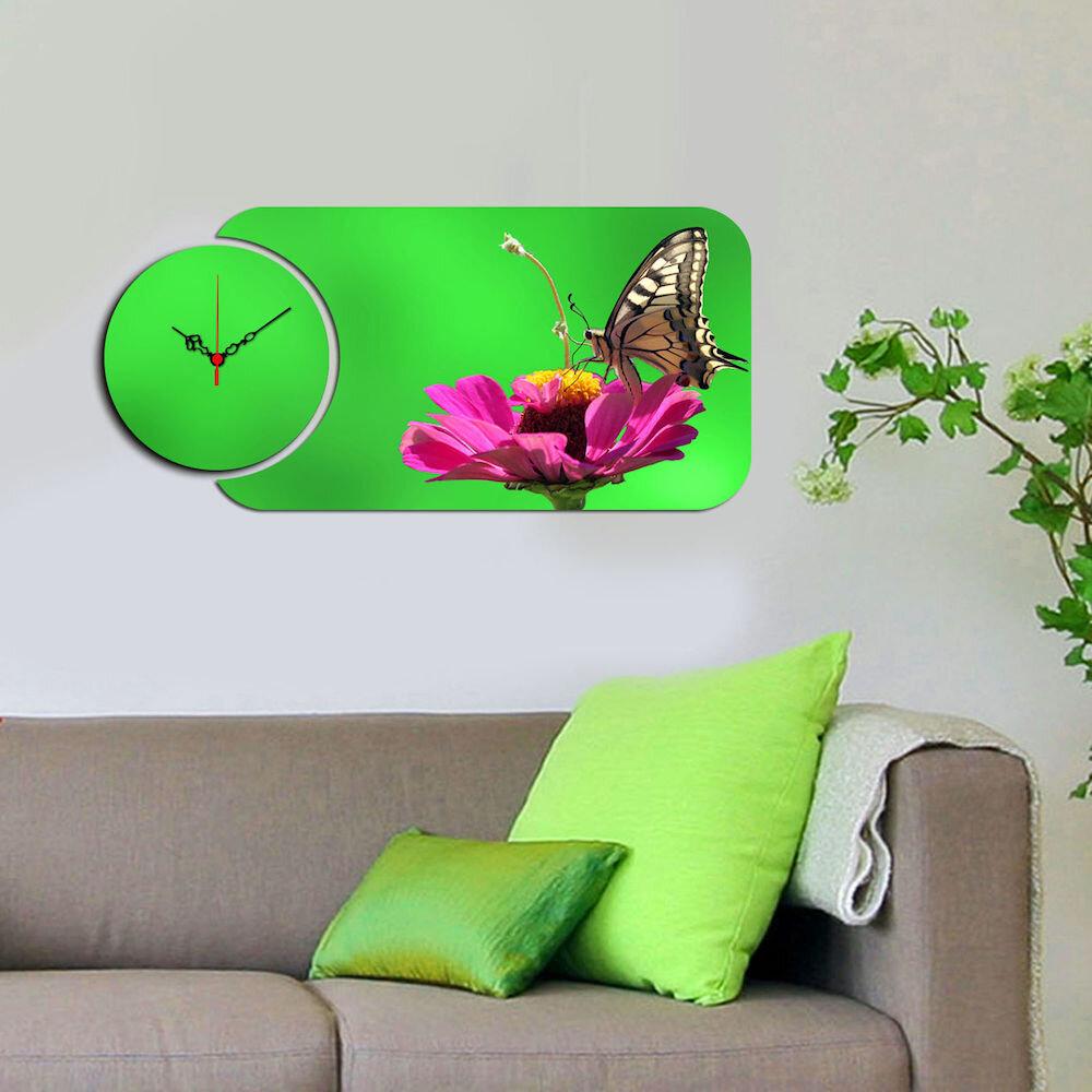 Ceas decorativ Home Art, 238HMA5153, 2 Piese, MDF