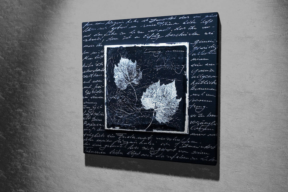 Tablou decorativ pe panza Majestic, 257MJS1252, 45 x 45 cm, panza