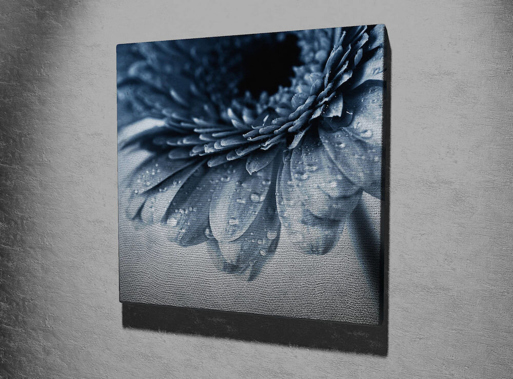 Tablou decorativ pe panza Majestic, 257MJS3244, 45 x 45 cm, panza