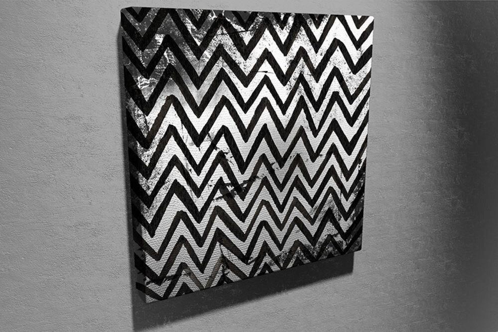 Tablou decorativ pe panza Symphony, 762SYM4252, 45 x 45 cm, panza