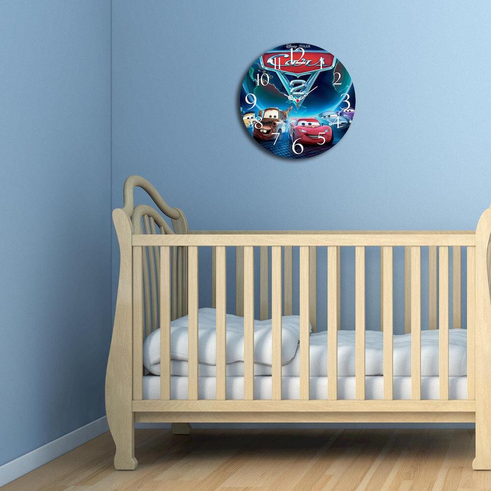 Ceas decorativ de perete din lemn Taffy, 241TFY3114, 40 cm, MDF