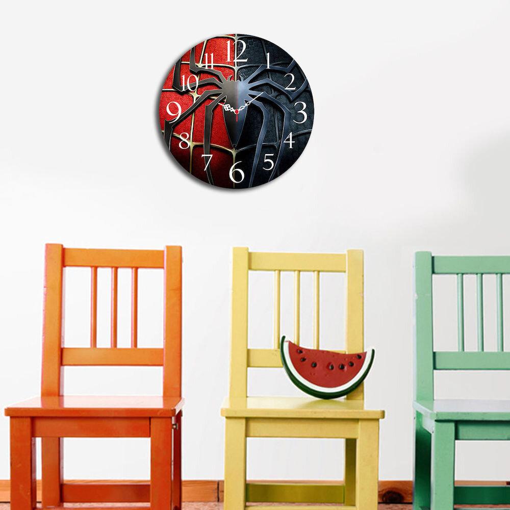 Ceas decorativ de perete din lemn Taffy, 241TFY3117, 40 cm, MDF