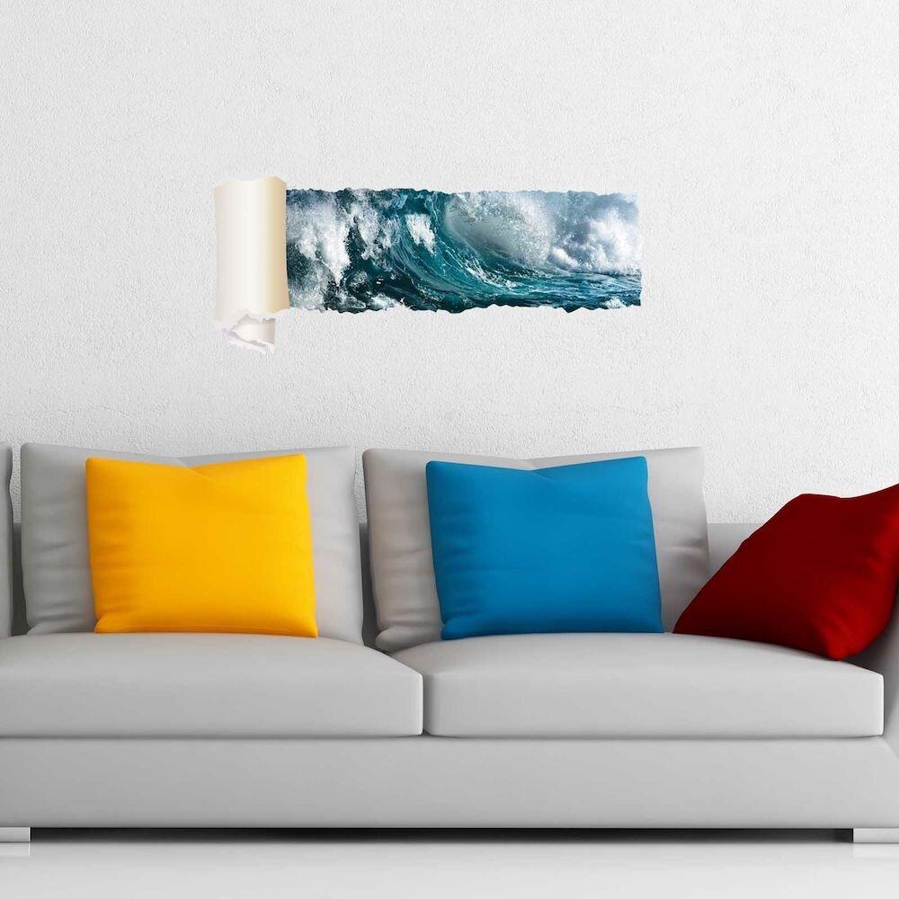 Sticker decorativ de perete Wall 3D, 259DWL1085, 95 x 40 cm