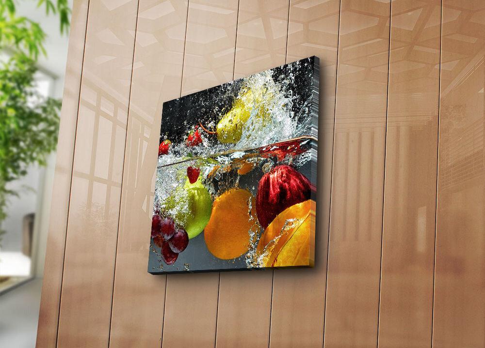 Tablou decorativ pe panza Bonanza, 242BNZ1218, 45 x 45 cm, panza