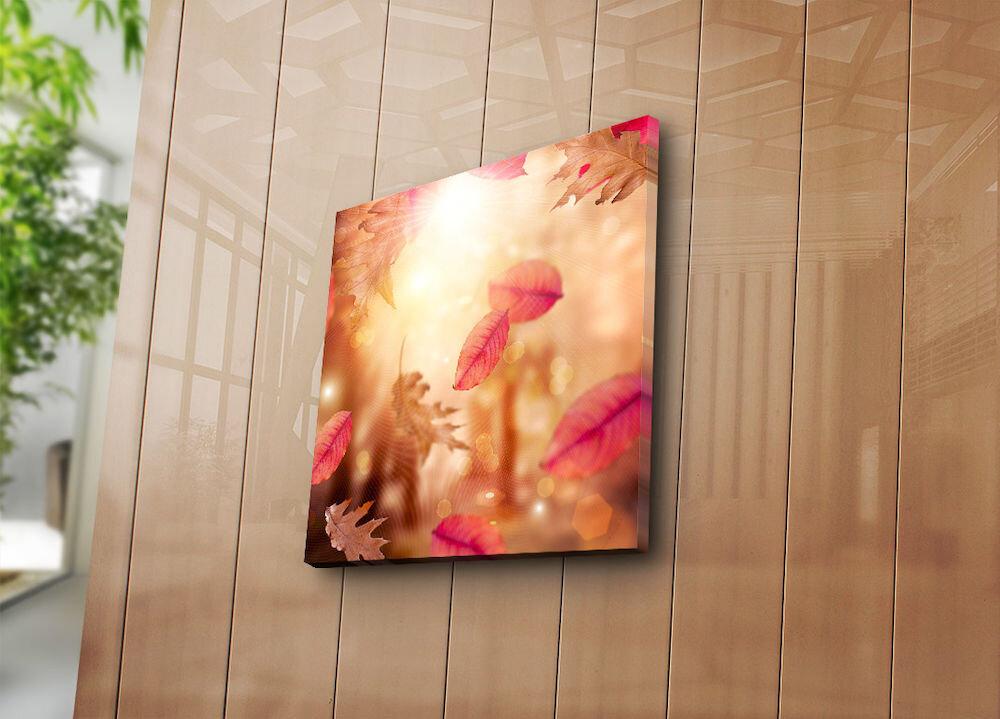 Tablou decorativ pe panza Bonanza, 242BNZ1223, 45 x 45 cm, panza