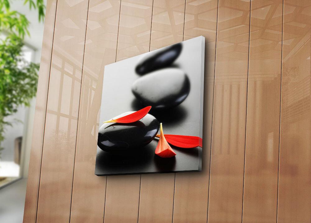 Tablou decorativ pe panza Bonanza, 242BNZ1203, 45 x 45 cm, panza