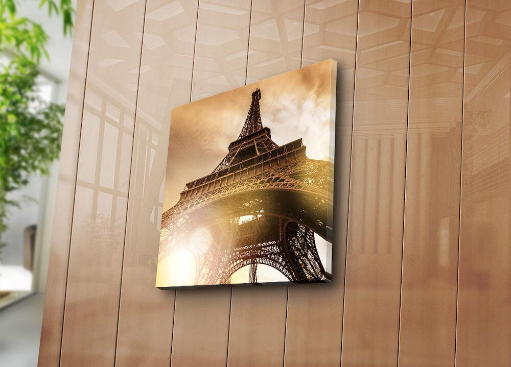 Tablou decorativ pe panza Bonanza, 242BNZ1235, 45 x 45 cm, panza