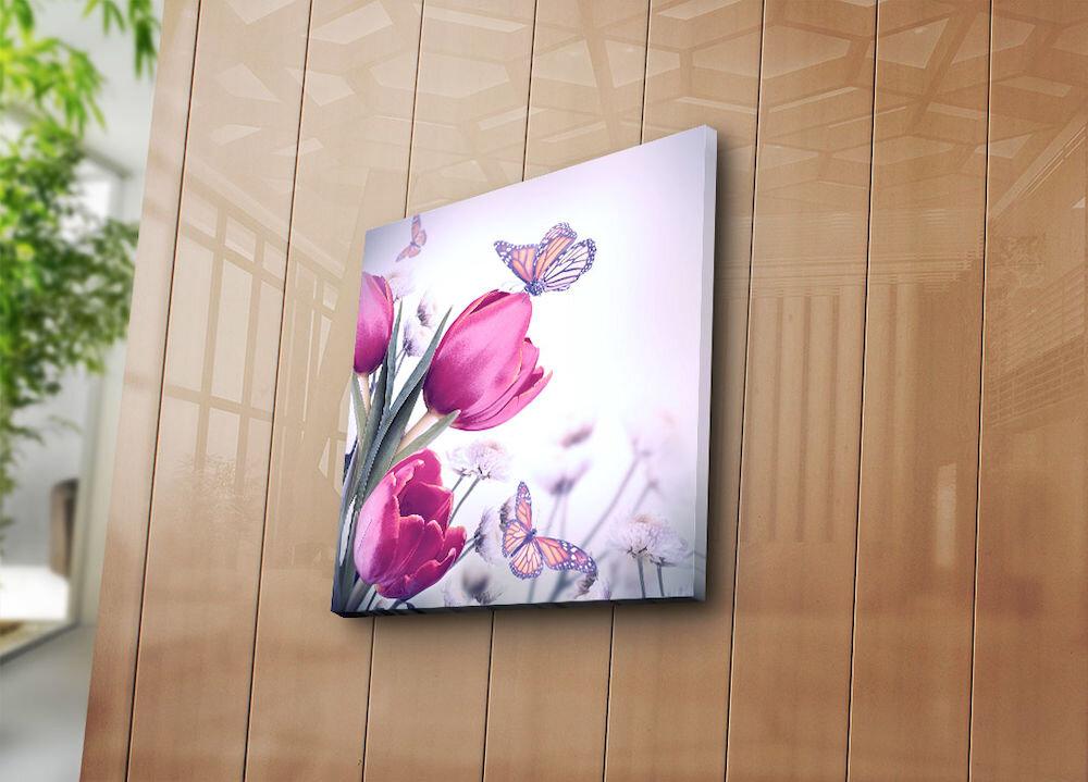 Tablou decorativ pe panza Bonanza, 242BNZ1239, 45 x 45 cm, panza