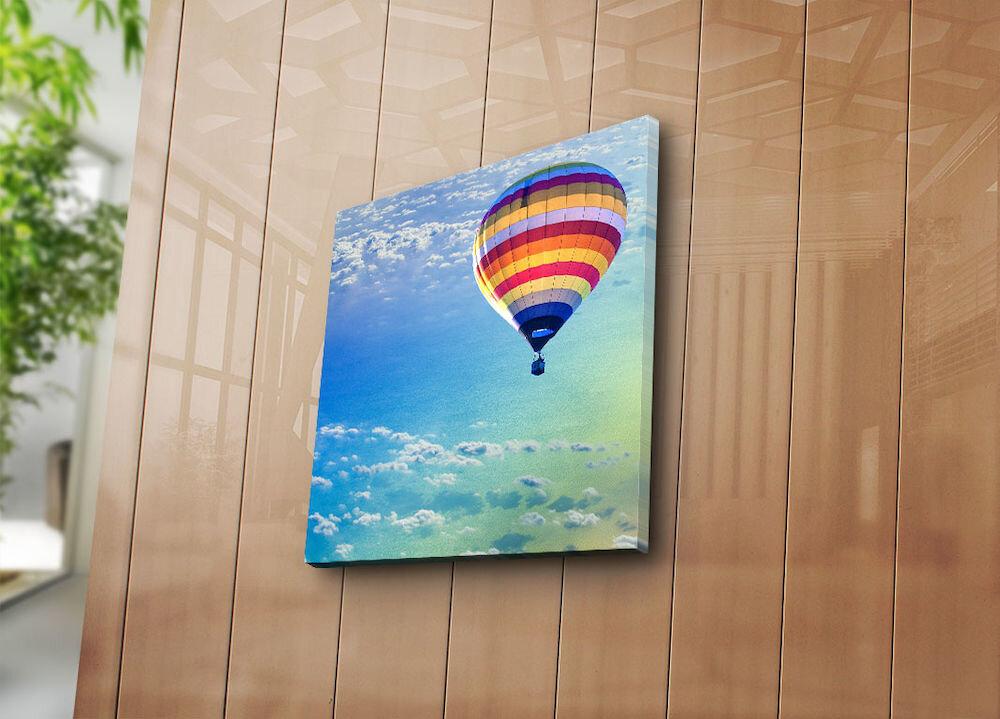 Tablou decorativ pe panza Bonanza, 242BNZ1243, 45 x 45 cm, panza