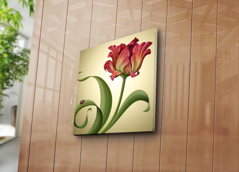 Tablou decorativ pe panza Bonanza, 242BNZ1248, 45 x 45 cm, panza