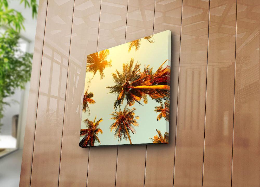 Tablou decorativ pe panza Bonanza, 242BNZ1206, 45 x 45 cm, panza