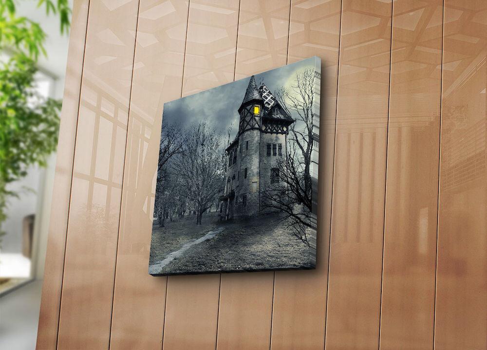 Tablou decorativ pe panza Bonanza, 242BNZ1262, 45 x 45 cm, panza